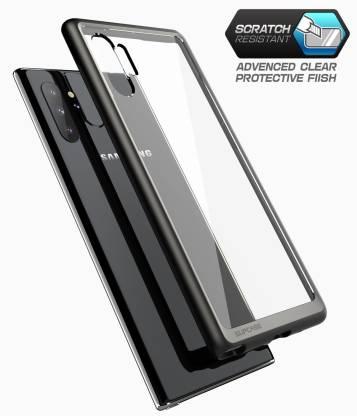 Samsung Note 10 – Black transparent Shockproof case 3 shop in factory