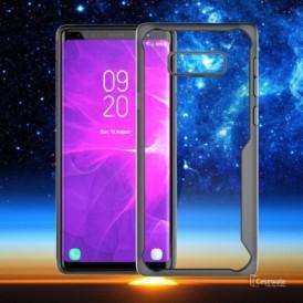 Samsung S8 Plus – Black transparent Shockproof case 1 shop in factory (1) (1) (1)