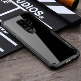 Samsung S9 – Black transparent Shockproof case 1 shop in factory