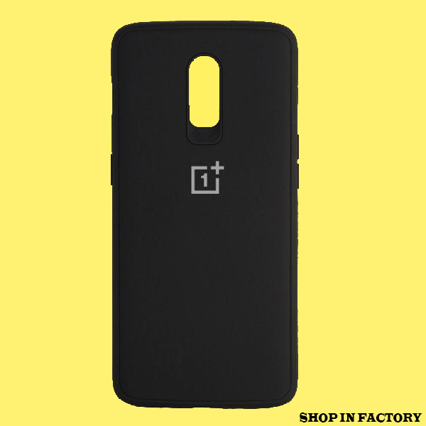 ONEPLUS 6T - BLACK SILICONE PROTECTION CASE 1