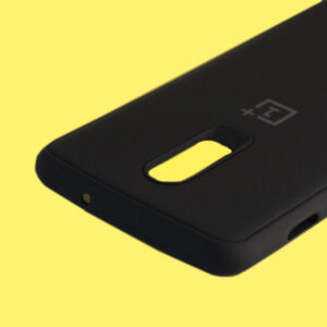 ONEPLUS 6T - BLACK SILICONE PROTECTION CASE 2