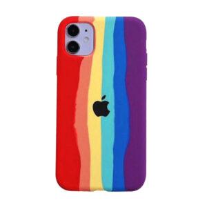 Apple iphone 11 rainbow case