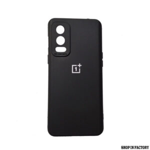 ONEPLUS NORD 2 - BLACK SILICONE CAMERA PROTECTION CASE