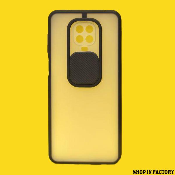 REDMI NOTE 9 PRO MAX - BLACK SHUTTER PROTECTION CASE