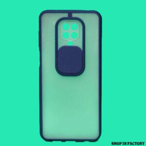 REDMI NOTE 9 PRO MAX - BLUE SHUTTER PROTECTION CASE