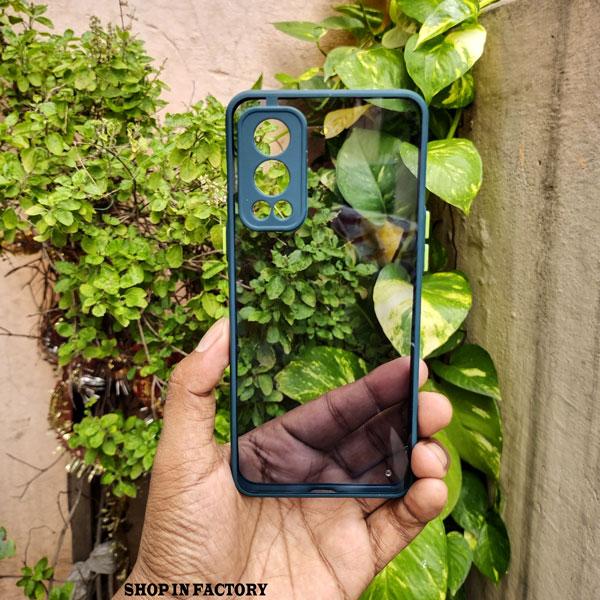 ONEPLUS NORD 2 - DARK GREEN SMOKE PROTECTION CASE