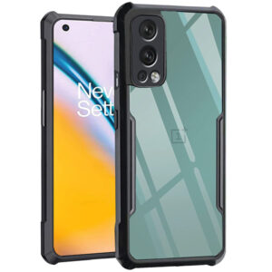 ONEPLUS NORD 2 - TRANSPARENT SHOCKPROOF PROTECTION CASE 1