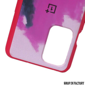 ONEPLUS 9R - PURPLE OIL RAINBOW SILICONE PROTECTION CASE 2