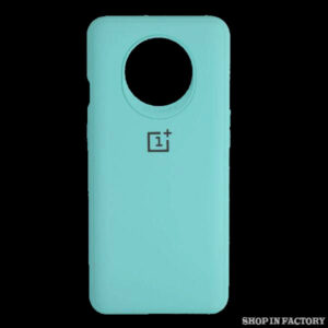 ONEPLUS 7T - LIGHT BLUE SILICONE PROTECTION CASE 1