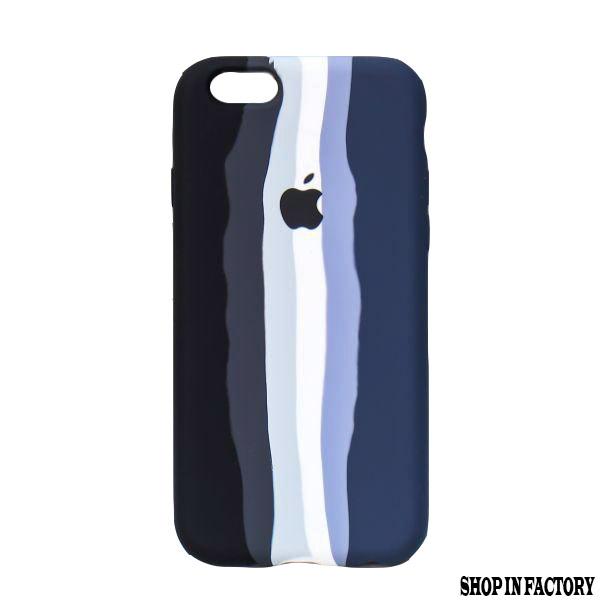 Apple-iphone-SE 2020 -blue-rainbow