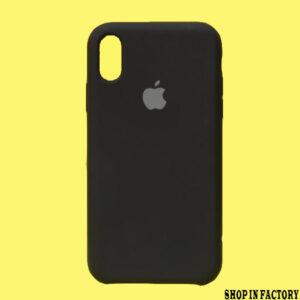 APPLE IPHONE X/XS – BLACK ORIGINAL SILICONE PROTECTION CASE