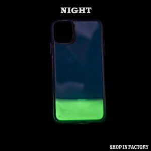 APPLE IPHONE 11 - BLUE GLOW SILICONE CASE