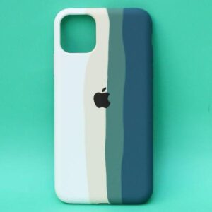 APPLE IPHONE 12/12 PRO -ARMY RAINBOW SILICONE CASE