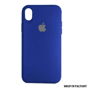 APPLE IPHONE X MAX – DARK BLUE SILICONE PROTECTION CASE