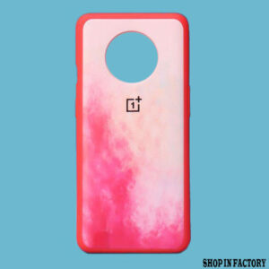 ONEPLUS 7T - PINK OIL SILICONE PROTECTION CASE