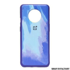 ONEPLUS 7T - BLUE OIL SILICONE PROTECTION CASE