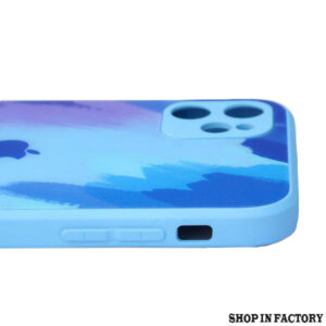 APPLE IPHONE 11 – MARINE OIL PAINT CAMERA PROTECTION MIRROR CASE