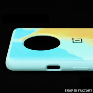 ONEPLUS 7T - GREEN OIL SILICONE PROTECTION CASE