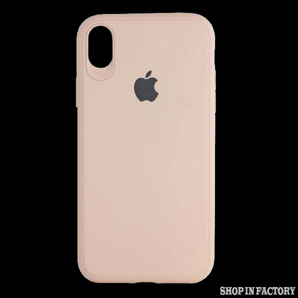 APPLE IPHONE X MAX – PEACH SILICONE PROTECTION CASE