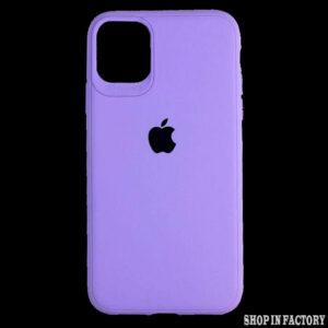 APPLE IPHONE 11 – PURPLE SILICONE CASE