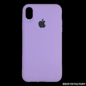 APPLE IPHONE X/XS – PURPLE SILICONE PROTECTION CASE
