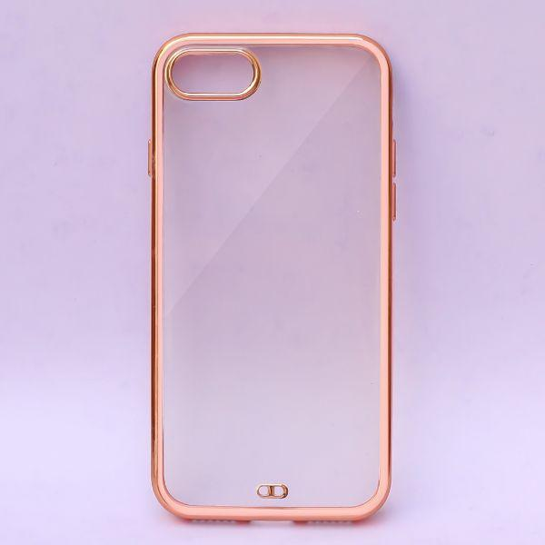 APPLE IPHONE SE 2020 – ROSE GOLD ELECTROPLAT TRANSPARENT PROTECTION