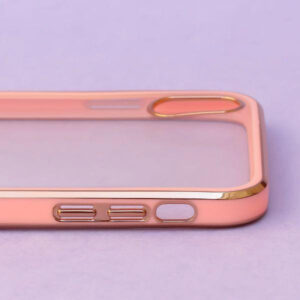 APPLE IPHONE X MAX – ROSE GOLD ELECTROPLAT TRANSPARENT PROTECTION CASE