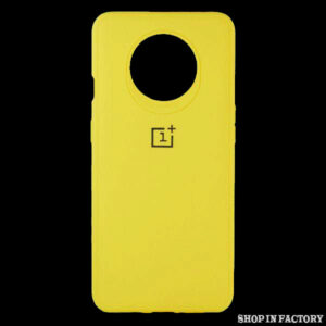 ONEPLUS 7T - YELLOW SILICONE PROTECTION CASE 1