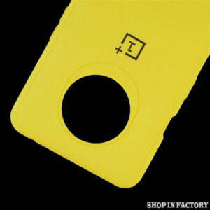 ONEPLUS 7T - YELLOW SILICONE PROTECTION CASE 2