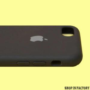 APPLE IPHONE SE 2020 - BLACK ORIGINAL SILICONE PROTECTION CASE